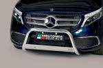 Nerezový přední ochranný rám Mercedes V Class W447 facelift 2020