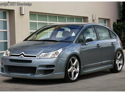 Body kit Citroen C4 5dv - Sin Drome