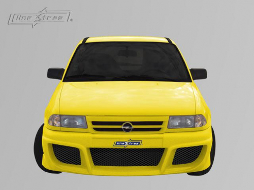 Body kit Poison Opel Astra F