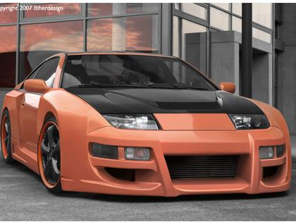 Body kit Nissan 300 ZX - Vapor WIDE