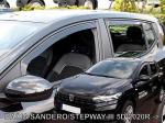 Deflektory-ofuky oken Dacia Sandero / Stepway III 5dvéř.