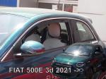 Deflektory-ofuky oken Fiat 500 3dvéř.