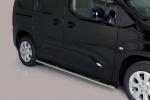 Nerez boční oválné nášlapy Opel Combo E