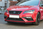 Spoiler předního nárazníku v1 Seat Leon Mk3 Cupra/ FR Facelift
