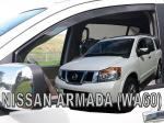 Deflektory-ofuky oken Nissan Armada 5-Dvéř