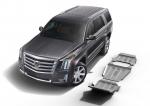 sada ALU krytů podvozku Cadillac Escalade  - motor a převodovka a rozdělovací převodovka