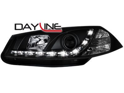 259fcd8510 Přední světla černá Devil Eyes Renault Megane II