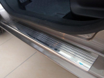 Kryty prahů-nerez+plast Suzuki Swace