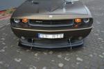 Spoiler předního nárazníku v1 Dodge Challenger MK3 PHASE-I STR8 Coupe