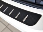 Kryt prahu pátých dveří - nerez+karbon folie Chevrolet Trax