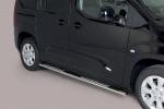 Nerez boční designové nášlapy Opel Combo E