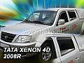 Deflektory-ofuky oken Tata Xenon přední+zadní