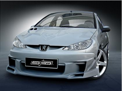 Body kit Skyline Peugeot 206