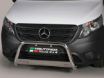 Nerezový přední ochranný rám Mercedes Viano / Vito W447, 63mm