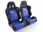 Sportovní sedačky FK Automotive Dallas modré
