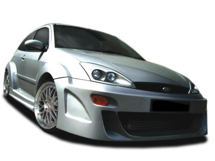 Body kit Ford Focus - Zion Wide 3dv