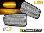 LED dynamické boční blikače Citroen Saxo - čiré