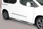 Nerez boční oválné nášlapy Toyota ProAce City Verso