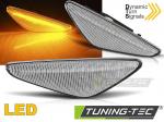 LED dynamický blikač BMW X3 F25 LCI / BMW X4 F26 - bílé provedení