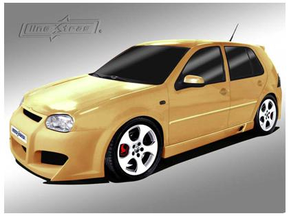 Body kit Evolution Volkswagen Golf IV