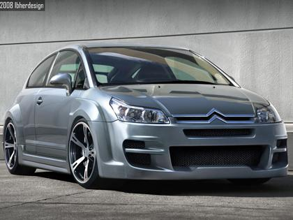 Body kit Citroen C4 Coupe - Sin Drome Wide