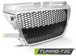 Maska Audi A3 (8P) Sport, stříbrnočerná
