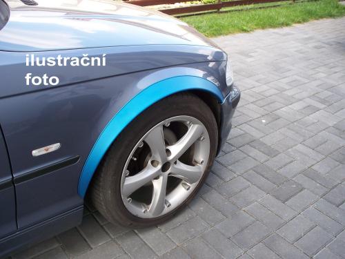 Lemy blatníků Citroen C5 I / facelift, 4/5 <br>-dvéř. hatchback, kombi, pro lakování