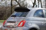 Prodloužení střešního spoileru Fiat 500 Abarth MK1 Facelift