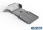 ALU kryt motoru a převodovky Lada 4x4 / Niva / Taiga / Urban