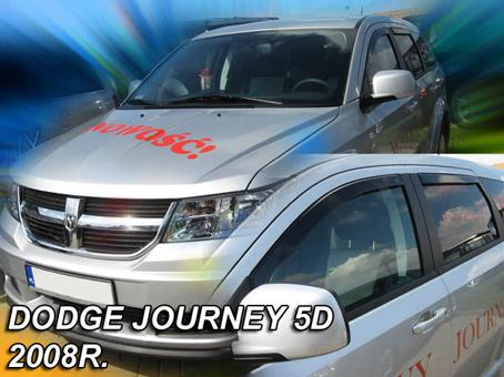 Deflektory-ofuky oken Dodge Journey