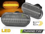 LED dynamické čiré boční blinkry Renault / Nissan / Dacia / Opel / Smart