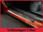 Nerez kryty prahů Volkswagen T-Roc černé
