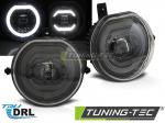 LED mlhová světla s denním svícením pro Mini Cooper F55 / F56 / F54 / F57 - černá