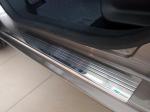 Kryty prahů-nerez+plast Toyota Yaris IV 5dvéř.