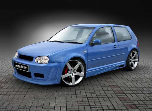 Body kit Ghost Volkswagen Golf IV