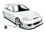 Body kit Honda Civic - Eagle RXX Hatchback