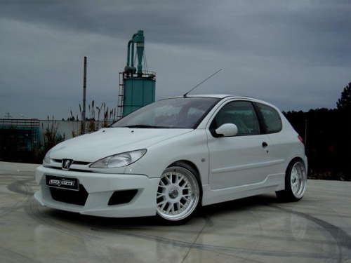 Body kit Drift Peugeot 206