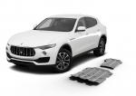 sada ALU krytů podvozku Maserati Levante  - motor, převodovka a rozdělovací  převodovka