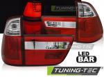 LED zadní světla BMW X5 E53 červeno-bílé