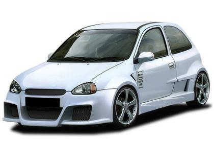 Body kit Opel Corsa B - Optima Wide