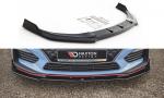 Spoiler předního nárazníku v3 Hyundai i30 N Mk3 Hatchback/ Fastback