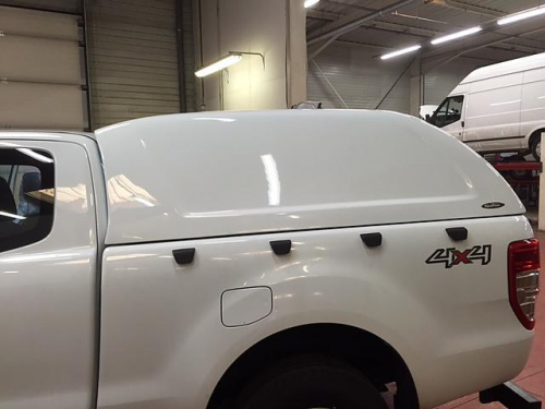 Hard Top Ford Ranger T6 extra cab, bez oken