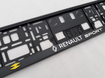 Podložka pod SPZ 3D Renault RS Sport