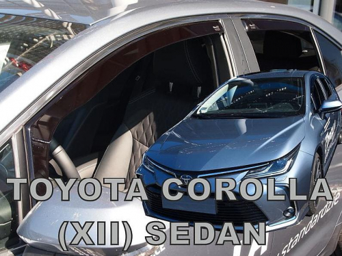 Deflektory <br>-ofuky oken Toyota Corolla XII sedan prední + zadní