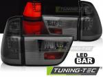 LED zadní světla BMW X5 E53 kouřové provedení