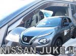 Deflektory-ofuky oken Nissan Juke 5-Dvéř
