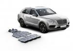 sada ALU krytů podvozku Bentley Bentayga  - motor a převodovka a rozdělovací převodovka