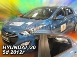 Deflektory-ofuky oken Hyundai i30 II - 5dvéř. + zadní