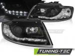 Přední světla Audi A4 B6 Cabrio LED černá