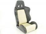 Sportovní sedačky FK Automotive Dallas béžové